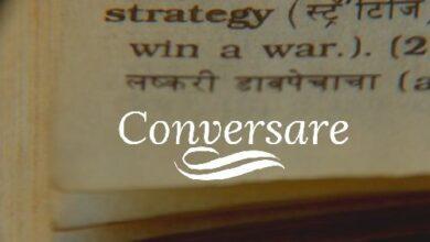 """Photo of Il significato antico della parola """"conversare"""""""