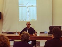 "Photo of Giuseppe Montesano a #Rdl: ""Io leggo per imparare a leggere leggendo"""