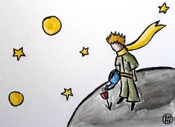 Disegno Volpe Piccolo Principe.Il Principe E La Rosa La Testata