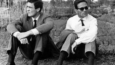 "Photo of Bertolucci. ""Io vi amavo tutti, quando eravate vivi."""