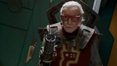 Photo of Stan Lee,*SNAP*, addio