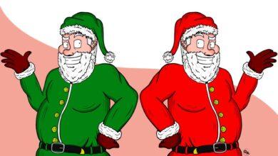 Photo of Babbo Natale: un arcobaleno di colori
