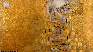 Photo of Gustav Klimt:la donna in oro su tela.