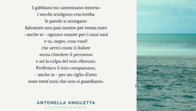 Photo of Antonella Angiletta: la sensazione tra me e me