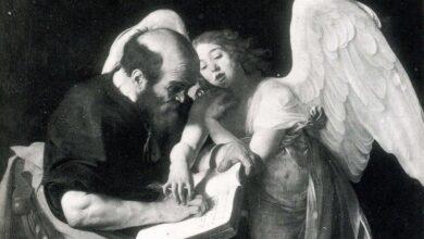 """Photo of Caravaggio tra paradosso e scandalo: la prima versione di """"San Matteo e l'angelo"""""""