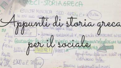 Photo of Appunti di storia greca per il sociale, parte prima