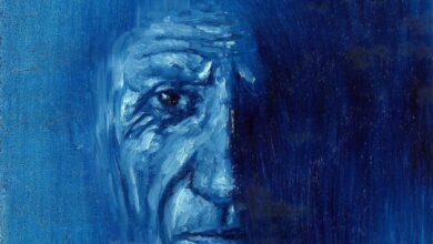 Photo of Picasso dal cuore blu