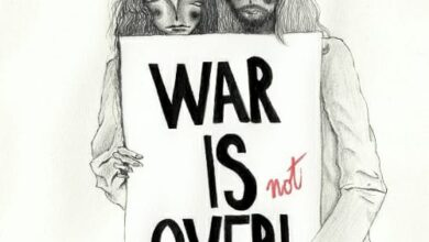 Photo of WAR IS OVER! If you want it