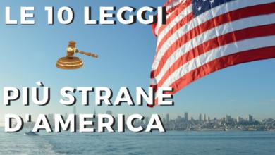 Photo of Le 10 leggi più strane degli Stati Uniti
