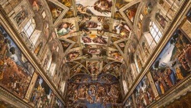 Photo of Michelangelo strikes again!