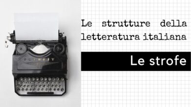 Photo of Le strofe della letteratura italiana