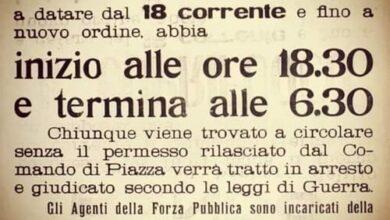 Photo of Il coprifuoco: vecchio rimedio della nonna