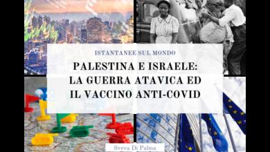 Photo of Palestina e Israele: la guerra atavica ed il vaccino anti-Covid