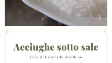 Photo of Acciughe sotto sale – Foto di Leonardo Avallone