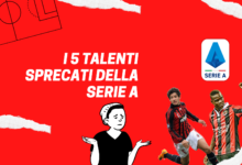 Photo of I 5 talenti sprecati della Serie A