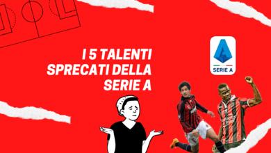 Photo of I 5 talenti sprecati della Serie A