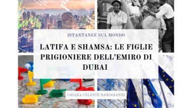 Photo of Latifa e Shamsa: le figlie prigioniere dell'Emiro di Dubai