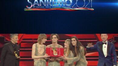 Photo of Sanremo 2021: Vincono i Måneskin! Sintesi breve di una lunga finale