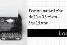Photo of Forme metriche della poesia lirica: L'ode