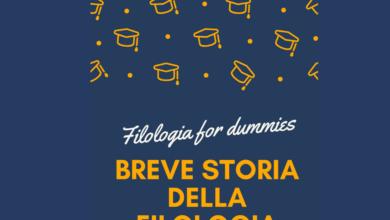 Photo of Filologia for dummies – Breve storia della filologia