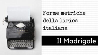 Photo of Forme metriche della poesia lirica: il madrigale