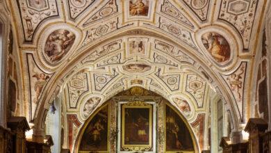 """Photo of Vasari e """"la maniera moderna"""" nella Sagrestia di Sant'Anna dei Lombardi"""