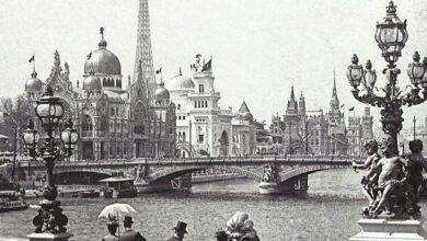 Photo of No, non è un luna park, è l'Expo di Parigi del 1900!