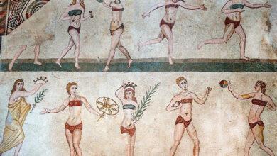 Photo of Anche in età romana si indossava il bikini