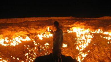 """Photo of La """"Porta dell'inferno"""" si trova in Turkmenistan e… si può visitare!"""
